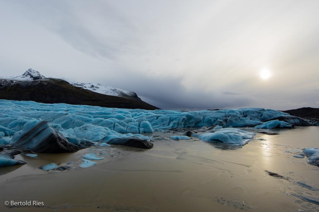 Svinafell Gletscher, Island