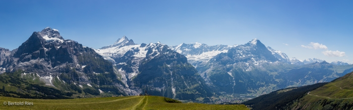Panoramic Views in Switzerland